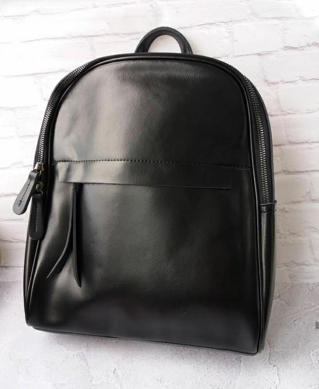 Женский кожаный рюкзак шкіряний портфель сумка -трансформер