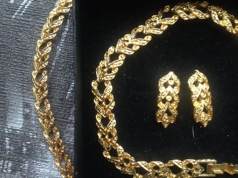 Набір біжутерії, намисто, браслет, сережки - Фото 4