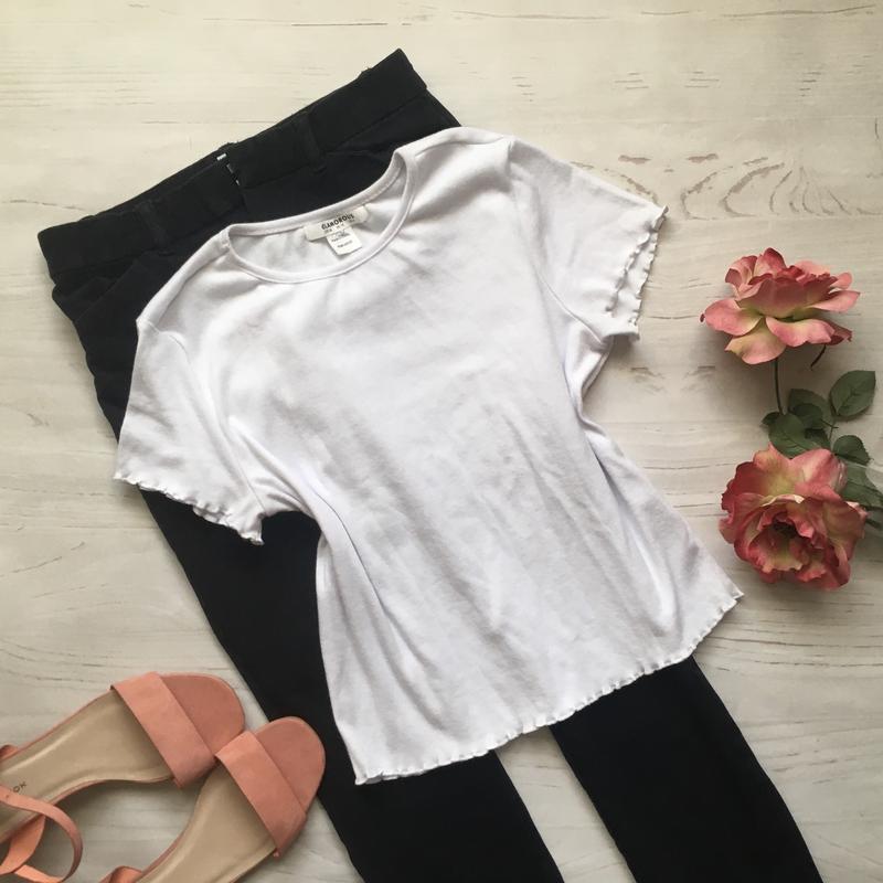 Базовая белая футболка (s/m)