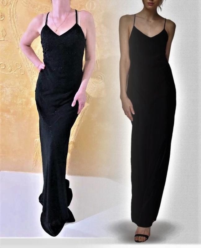 Класична вечірня сукня yve london,p.m-s - Фото 3