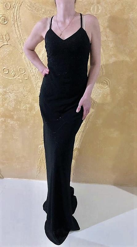 Класична вечірня сукня yve london,p.m-s - Фото 5