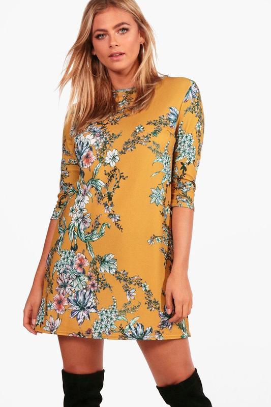 Сукня boohoo  в квітковий прінт, р.eur 40-38