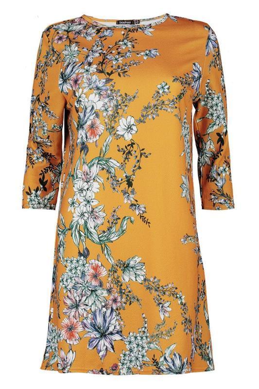Сукня boohoo  в квітковий прінт, р.eur 40-38 - Фото 4
