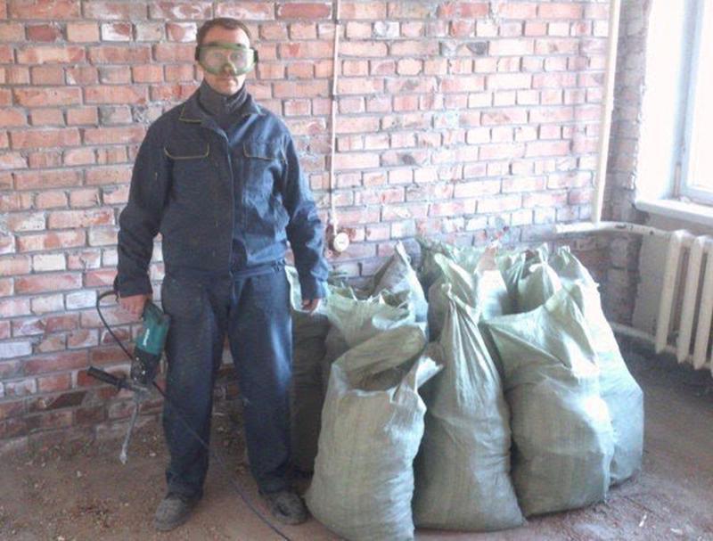 Демонтаж стен,полов,плитки,штукатурки и т.д+Вывоз мусора. - Фото 5