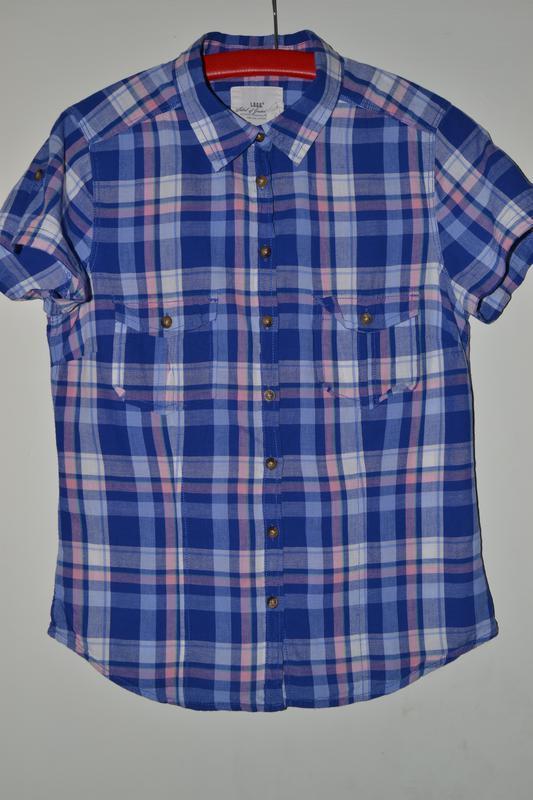 Большой выбор рубашек блузок разных размеров рубашка в клетку