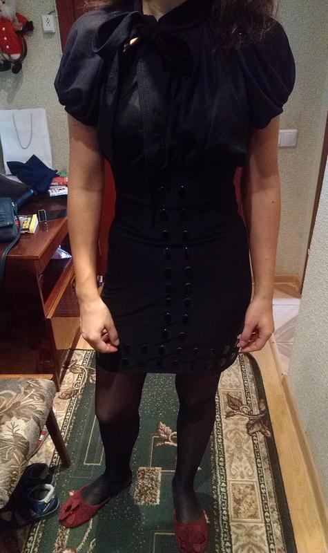 Нарядное маленькое платье черное, хs-s