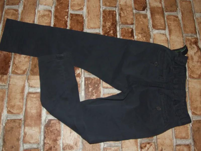 Новые джинсы чиносы мальчику 5 лет серые некст большой выбор - Фото 5