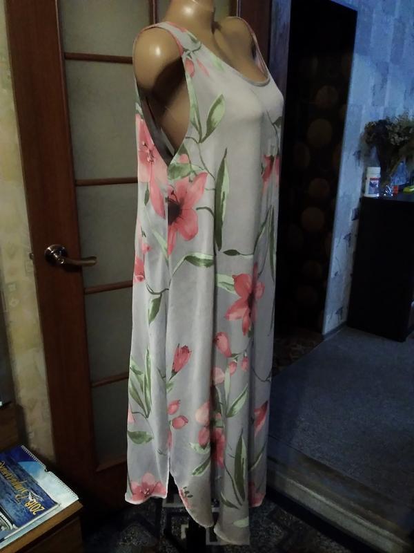 Красивое летнее платье, большого размера - Фото 2