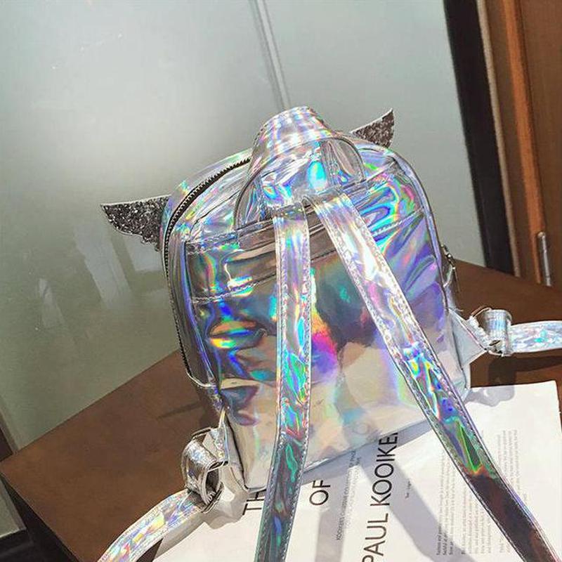 Голограммный рюкзак с крыльями -3 цвета - Фото 2