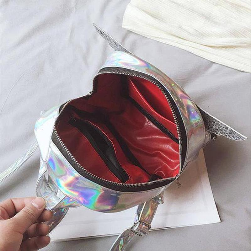 Голограммный рюкзак с крыльями -3 цвета - Фото 3