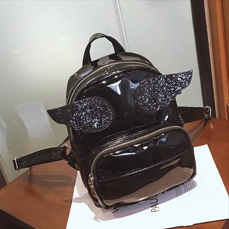 Голограммный рюкзак с крыльями -3 цвета - Фото 4