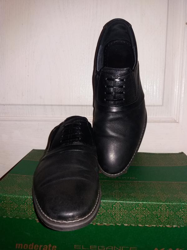 Кожаные туфли drongoff