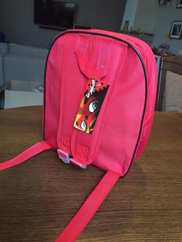 Дошкольный детский рюкзак леди баг и супер кот - Фото 2