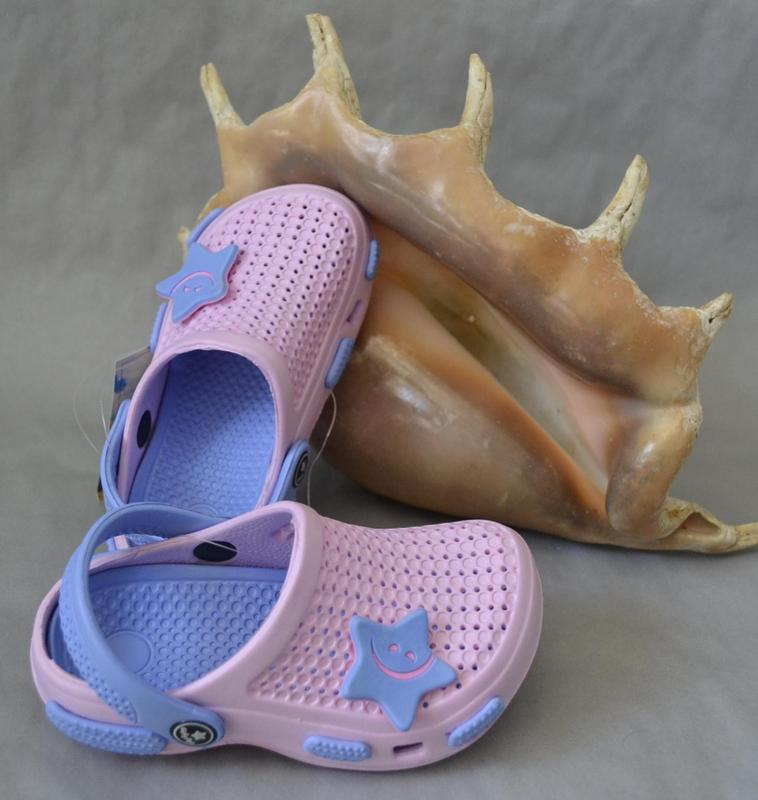 Кроксы calypso нежно розовые