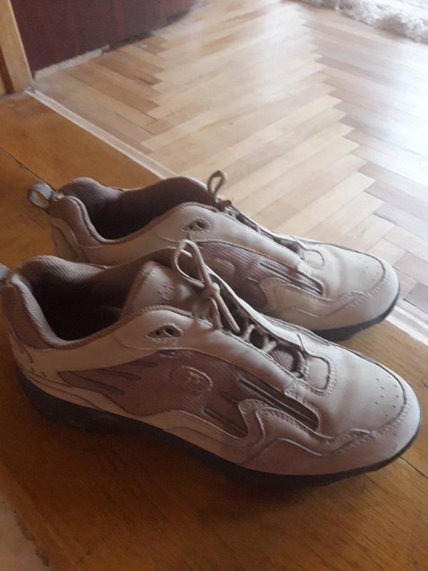 Кожаные кроссовки 39 размер - Фото 2