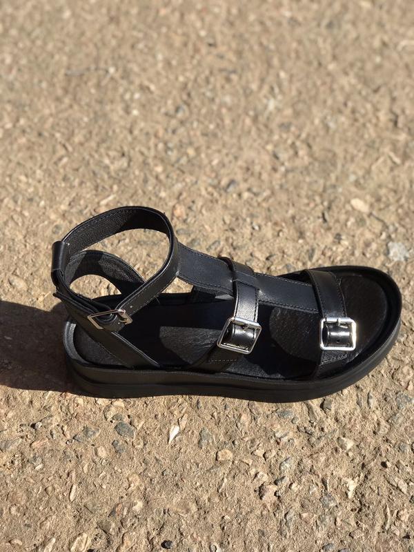Хит лета! кожаные сандалии,босоножки гладиаторы