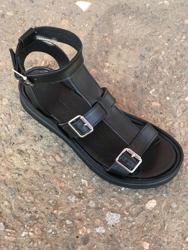 Хит лета! кожаные сандалии,босоножки гладиаторы - Фото 2