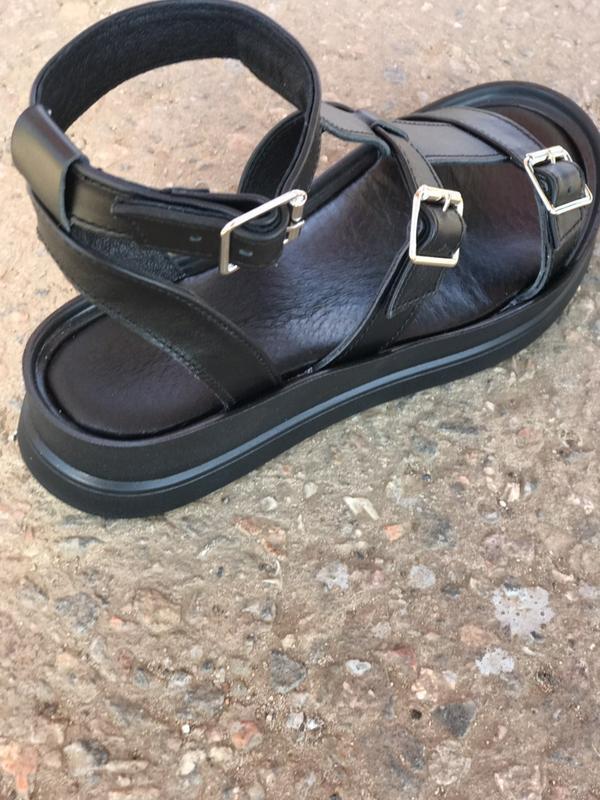 Хит лета! кожаные сандалии,босоножки гладиаторы - Фото 3