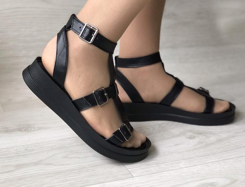 Хит лета! кожаные сандалии,босоножки гладиаторы - Фото 5