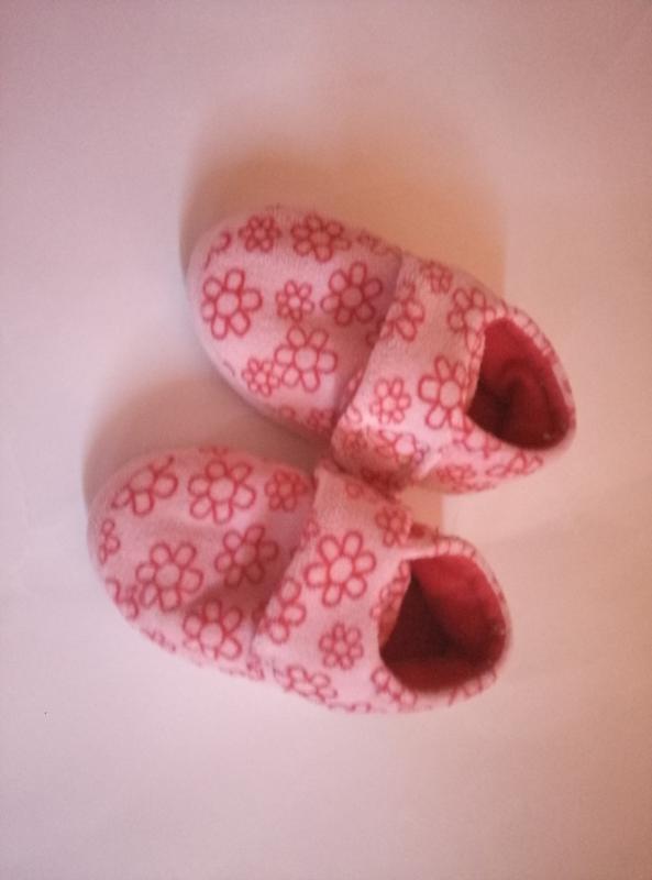 Плюшевые тапочки mothercare 20.5 .размер