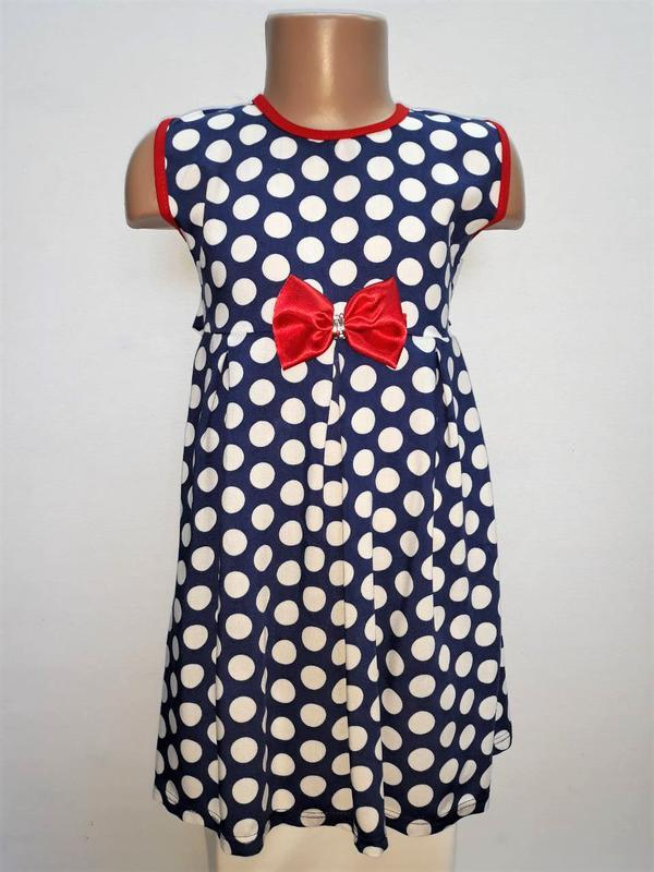 Платье детское летнее легкое штапельное для девочки.