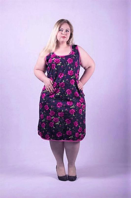 Платья женские летние сарафаны больших размеров.