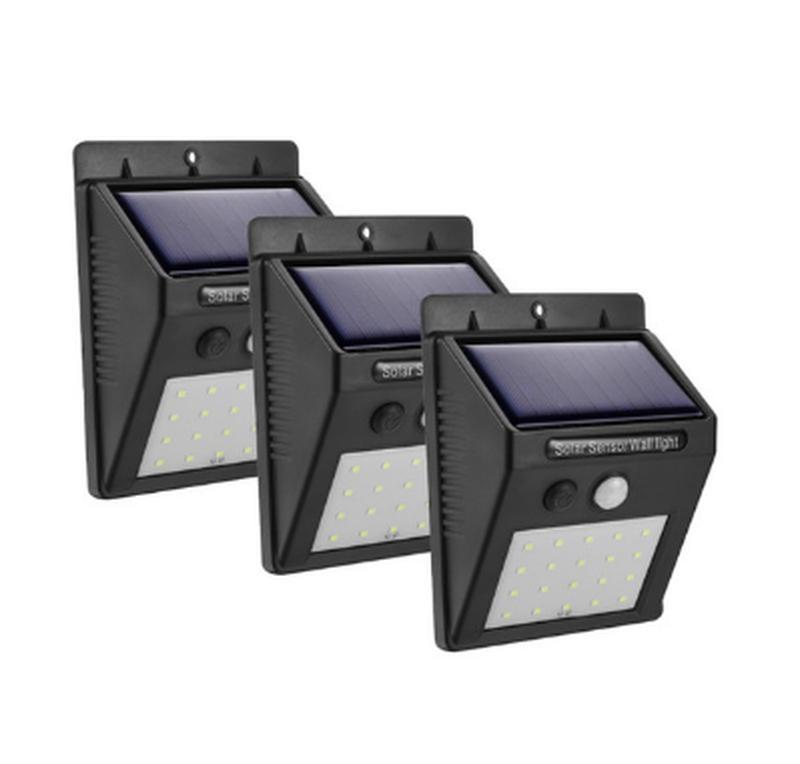 Светодиодный Навесной фонарь с датчиком движения 609 + solar - Фото 3
