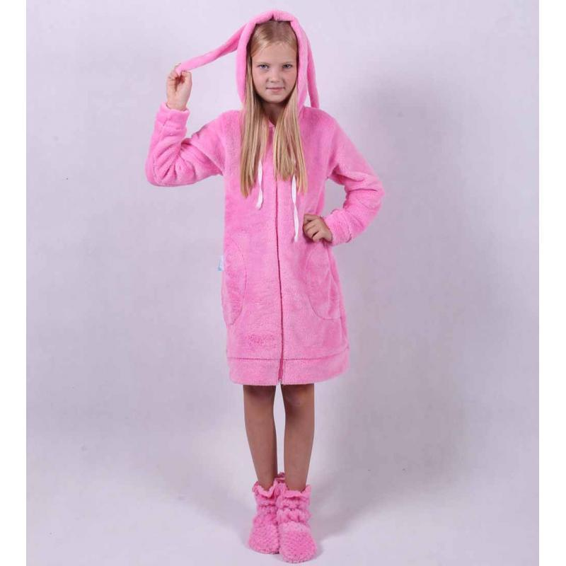 Детские махровые халаты для девочек.