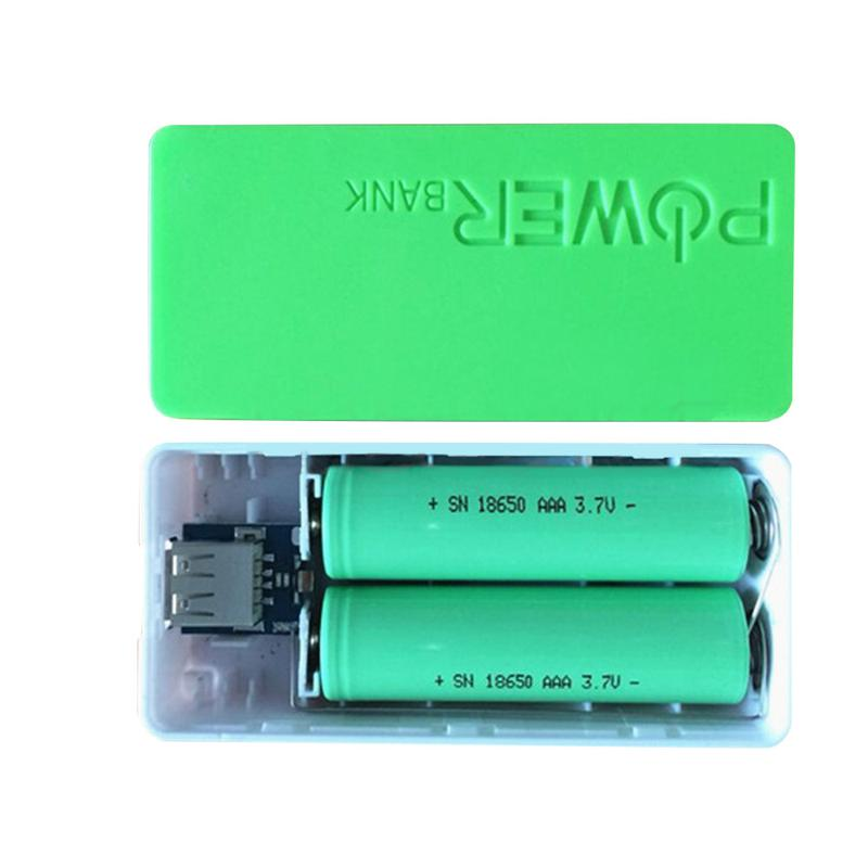 Power Bank с аккумулятором Liitokala 18650, 2x2600 mAh. Розовый - Фото 3