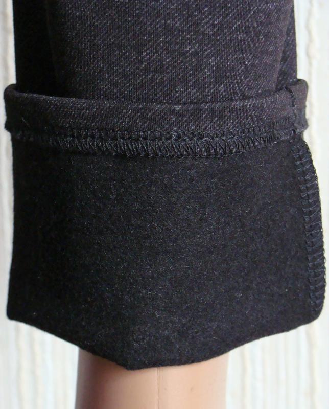 Теплые женские брюки больших размеров. - Фото 4