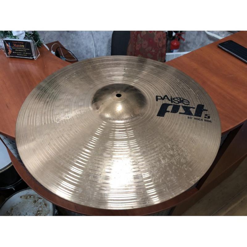 (1005) Новая Ударная Тарелка 20 Дюймов PST 5 Rock Ride - Фото 4
