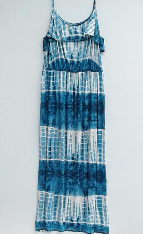 Летнее платье длинное платье в пол большой размер - Фото 2