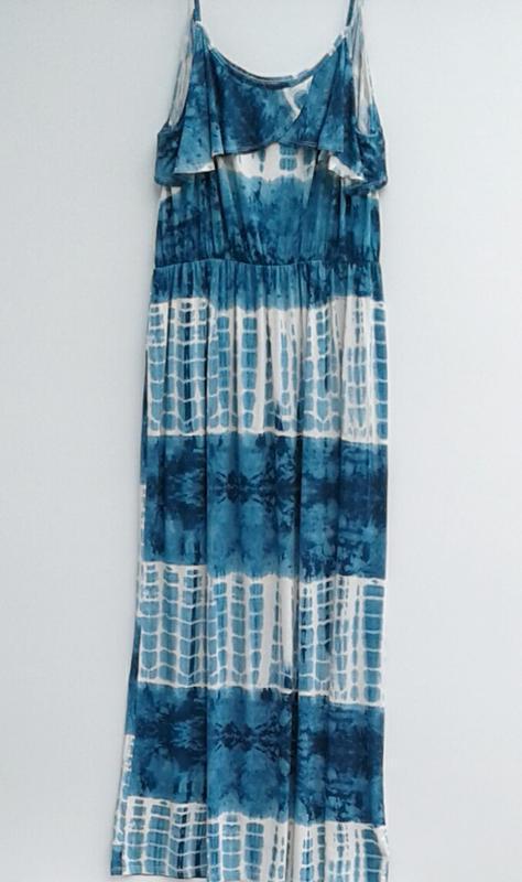 Летнее платье длинное платье в пол большой размер - Фото 3