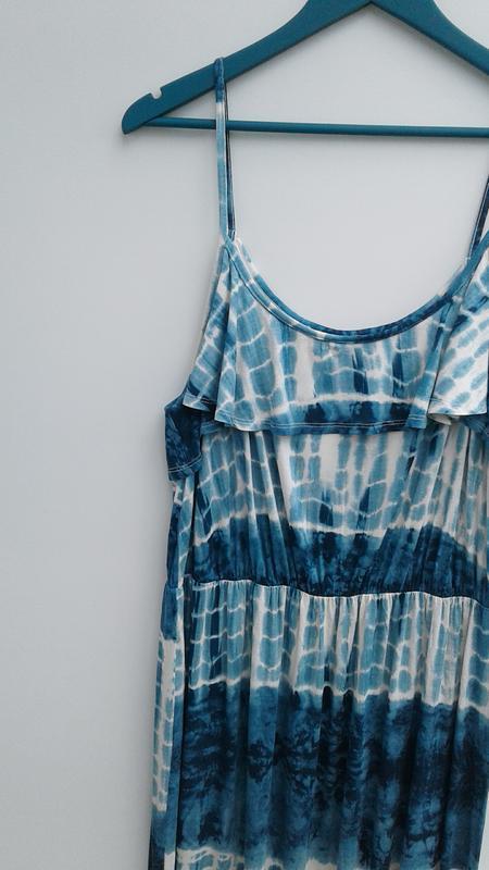 Летнее платье длинное платье в пол большой размер - Фото 4