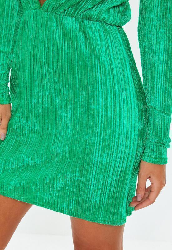 Новое платье с длинными рукавом под вельвет missguided - Фото 3