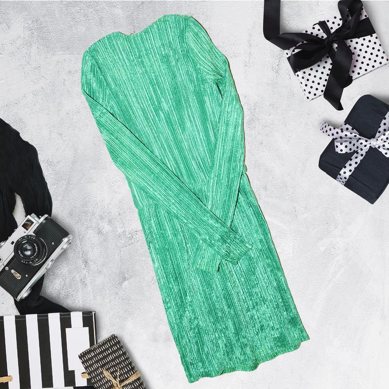 Новое платье с длинными рукавом под вельвет missguided - Фото 5