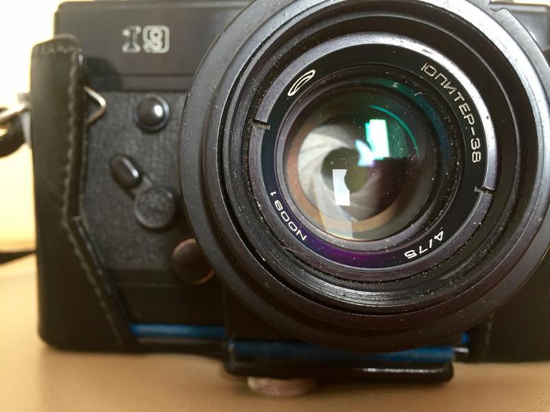 Фотоаппарат Зенит-19 (СССР), объектив Юпитер-38 75mm f/4.0 - Фото 2