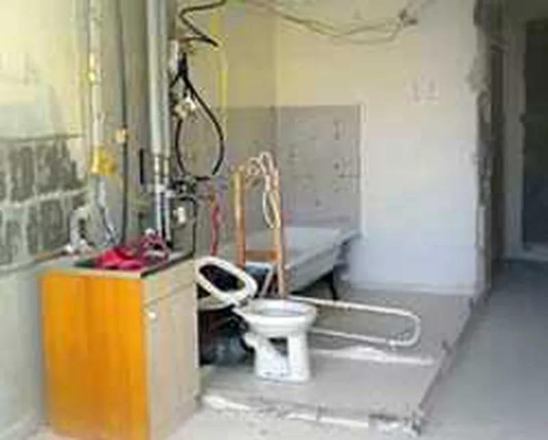 Аккуратный демонтаж стен, полов, плитки, штукатурки и т.д.