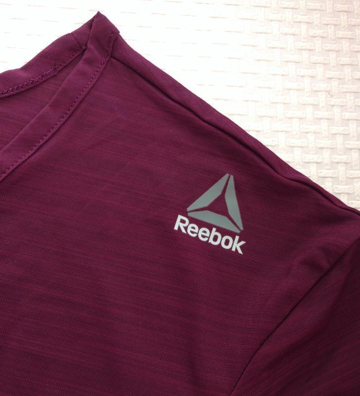 Полупрозрачная спортивная футболка reebok оригинал s - Фото 10