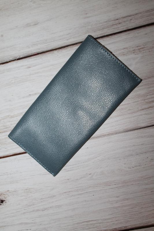 Кожаный кошелек 100% натуральная кожа - Фото 2
