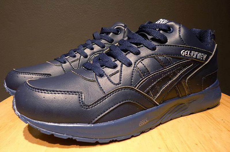 Зимние кроссовки Asics Gel Lyte (V) | размер 46-й | асикс синие