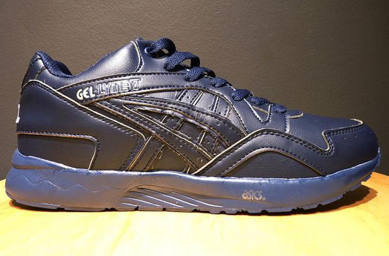 Зимние кроссовки Asics Gel Lyte (V) | размер 46-й | асикс синие - Фото 2