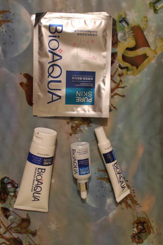 Набор для проблемной кожи Анти-акне, Pure Skin BIOAQUA 4шт - Фото 5