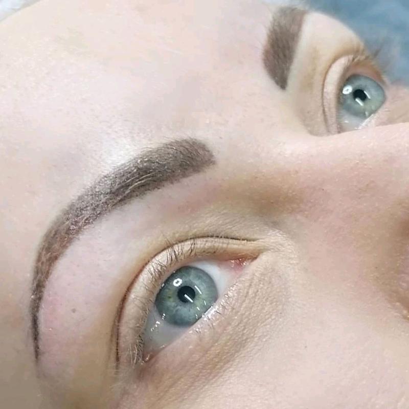 Перманентный макияж бровей, татуаж