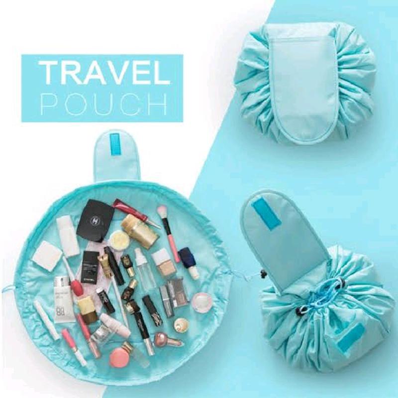 Ленивая косметичка-органайзер, сумка для косметики - Фото 8