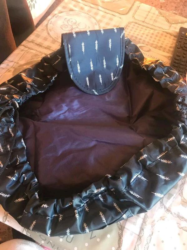 Ленивая косметичка-органайзер, сумка для косметики - Фото 6
