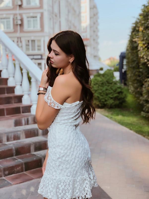 Кружевное платье - Фото 5