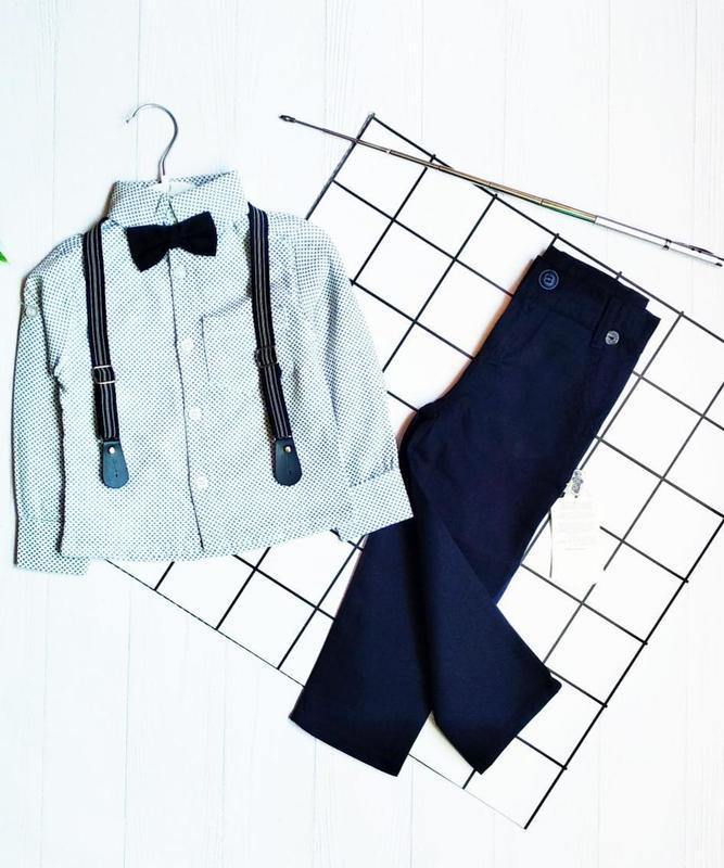 Классический нарядный костюм на мальчика,  3 года