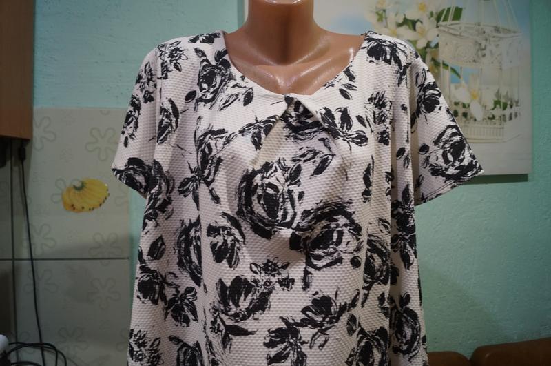 #розвантажуюсь блуза р.24,бренд george - Фото 4