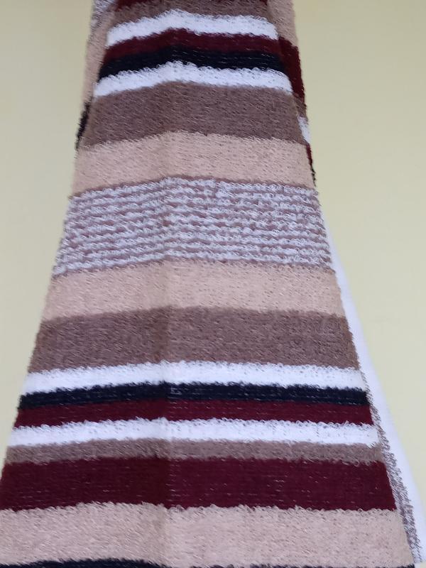 Полотенце лицевое махровое 100*50 коричневый - Фото 2